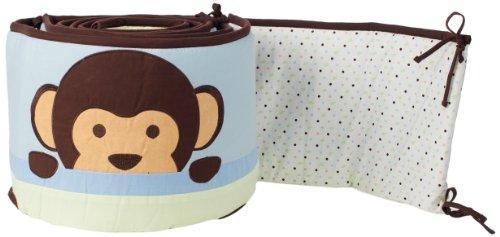Pam Grace Creations Crib Bumper, Maddox Monkey
