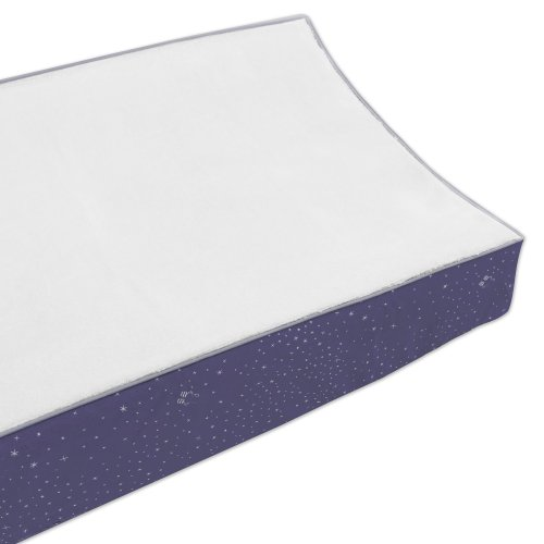 Babyletto Contour Changing Pad Cover, Galaxy front-150242