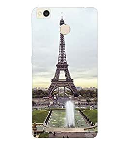 EPICCASE Effile Tower Mobile Back Case Cover For Xiaomi Redmi 3S (Designer Case)