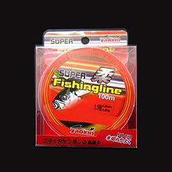 100M Nylon Fishing Lines 0.8-6.0 Sport Fishing Lines