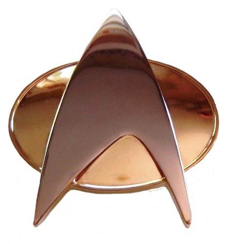 Star Trek TNG Authentic Full Size Metal COMMUNICATOR PIN