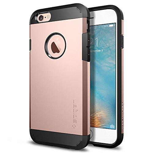 Spigen iPhone6S ケース / iPhone6 ケース タフ・アーマー (ローズ・ゴールド SGP11741)