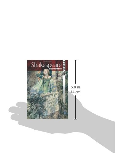 Shakespeare Illustrations (Dover Postcards)