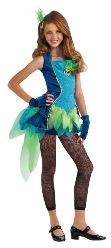 Rubie's Drama Queens Tween Peacock Costume - Tween Medium (2-4)