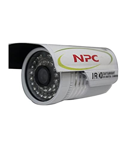 NPC 1000TVL 24 LED Night Vision Weatherproof Bullet CCTV Camera