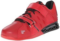 Reebok Men\'s Crossfit Lifter Plus 2.0 Training Shoe, Excellent Red/Black/White, 7 M US