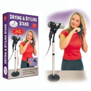 Hands Free Adjustable Hair Dryer Floor Holder Stand-as Seen on Tv