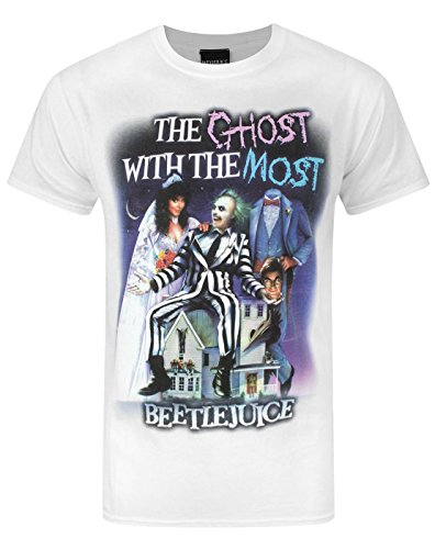 Official Beetlejuice Ghost With The Most Men's T-Shirt - S to XXL