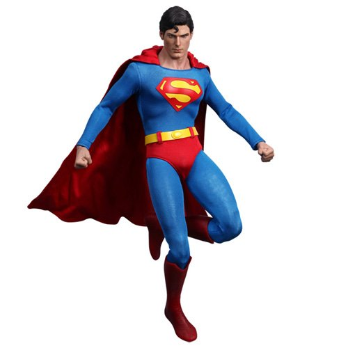 Sideshow Collectibles Hot Toys Movie Masterpiece 1/6 Scale Collectible Figure Superman Christopher Reeves