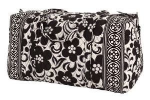 Vera Bradley Women's Large Duffel Night & Day Duffel Bag