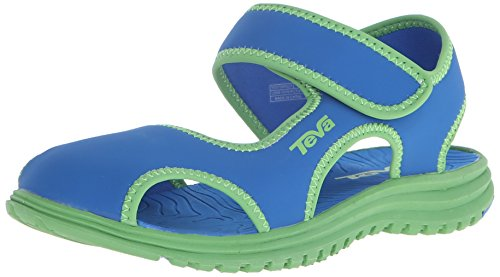 Teva Tidepool CT Water Sandal (Toddler/Little Kid), Blue/Green, 12 M US Little Kid