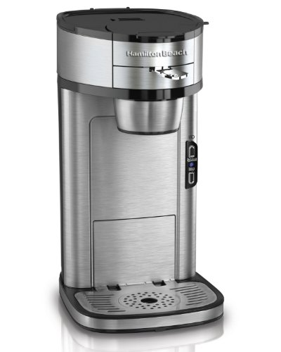 Hamilton Beach 49981A Single Serve Scoop Coffee Maker (Certified Refurbished) (Single Serve Scoop Coffee compare prices)