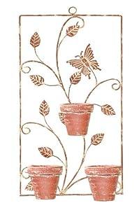 Wall Art and Planters from La Hacienda