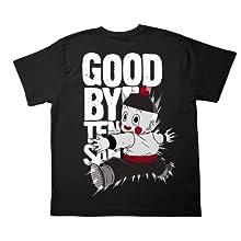ドラゴンボール改 さよなら天さんTシャツ改 ブラック サイズ:L
