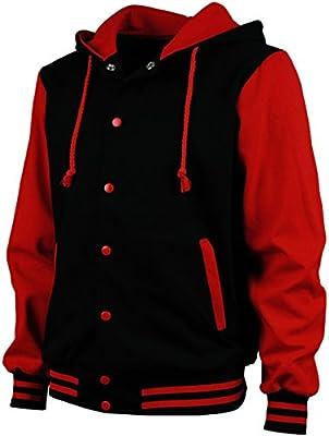 Angel Cola Men's Cotton Hoodie Varsity Jackets