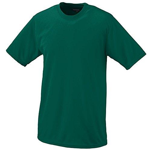 Augusta Sportswear BOYS' WICKING T-SHIRT M Dark Green