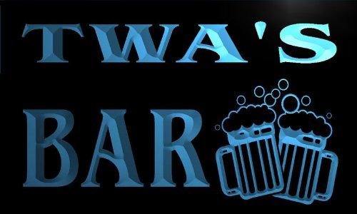 w118888-b-twa-name-home-bar-pub-beer-mugs-cheers-neon-light-sign