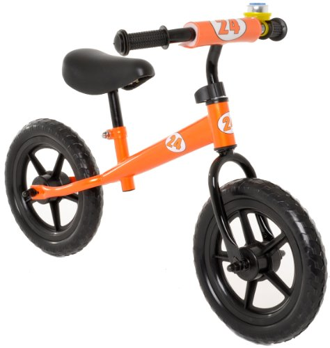 Vilano No Pedal Push Balance Bicycle for Children, Orange