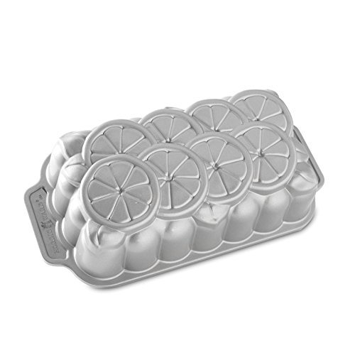 Nordic Ware Citrus Loaf Pan, Metallic (Nordic Ware Bread Loaf Pans compare prices)