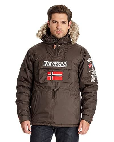 Geographical Norway Giacca Building [Marrone]