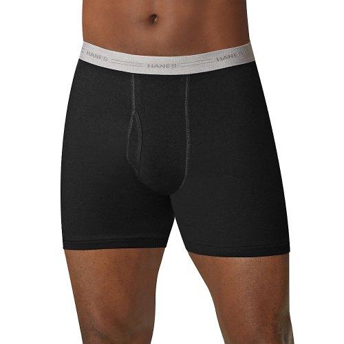 Hanes Men's Boxer Briefs with Comfort Flex Waistband 5-Pack
