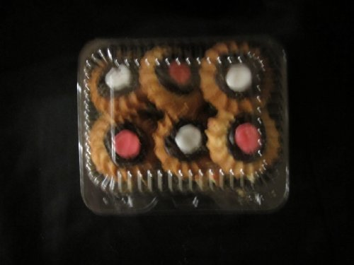 Clear Cookie Containers boxes - 12 boxes