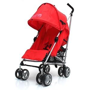 Zeta Vooom Stroller (Red) from Zeta