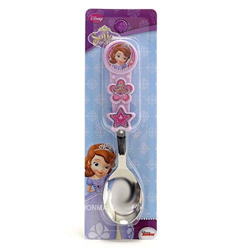 Disney Little Princess Sofia Kid Children 3D Handle Spoon 040185 - 1