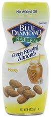 Blue Diamond Oven Roasted Almonds, Ho…