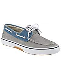 Sperry Top-Sider Men's Halyard 2 Eye blue/Khaki Boat Shoe