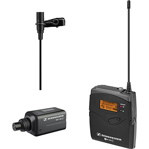 Sennheiser Ew 100 Eng G3-G Omni-Directional Clip-On Microphone Kit System