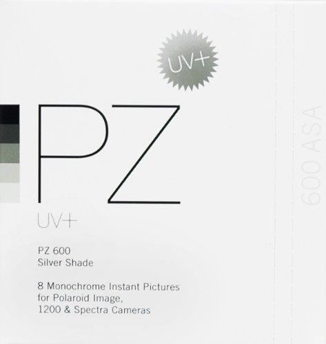 Impossible PZ 600 UV+ Monochrome Films (8 Shots for Image Cameras)
