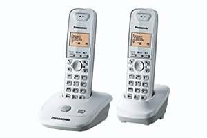 Panasonic KX-TG2522FRW Duo Téléphone sans fil DECT Mains-libres Avec Répondeur