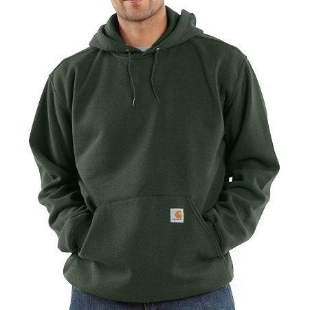 Carhartt Midweight Hooded Sweatshirt Olive M,L,XL,XXL Mens