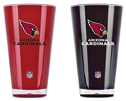 NFL Arizona Cardinals 20-Ounce Insulated Tumbler - 2 Pack