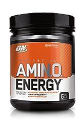 Optimum Nutrition Amino Energy, Orange Cooler, 65 Servings