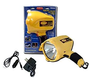New Fixit Tools Rechargeable Spotlight Flashlight