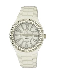 Le Chateau Women's 5871ws_wht Persida LC Ceramic Watch