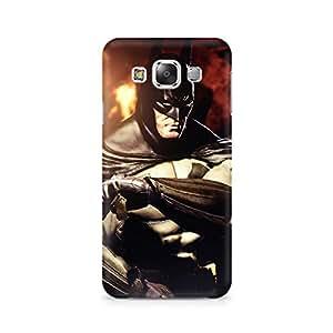 TAZindia Printed Hard Back Case Cover For Samsung Galaxy E5