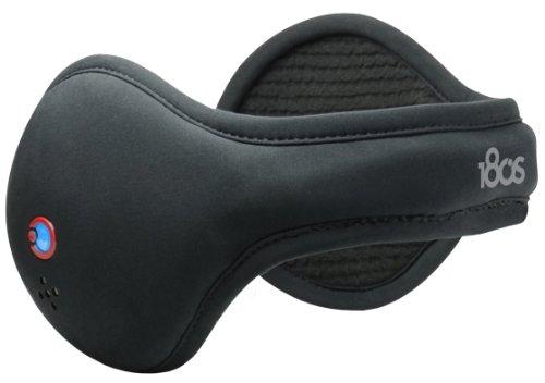180S Mens & Womens Unisex Bluetooth Ear Warmer, Black