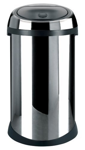 Brabantia Touch Bin, 50 Litre, Brilliant Steel