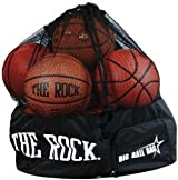 Anaconda Sports® BIGBALLBAG-R-BLCK Big Ball Bag (with The Rock® Logo)