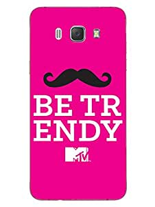 MTV Gone Case - Be Trendy - Pink - Hard Back Case Cover for Samsung J7 (2016) - Superior Matte Finish - HD Printed Cases and Covers