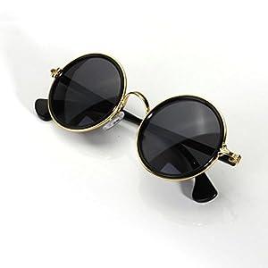 uv400 lunette de soleil ronde hippy john lennon retro. Black Bedroom Furniture Sets. Home Design Ideas