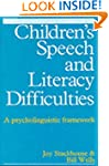 Children's Speech and Literacy Diffic...