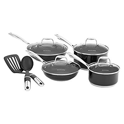 Kitchenaid Stainless Steel 10 Pc Culinary Cookware Set