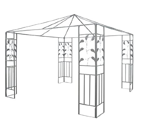 Outsunny 10' x 10' Steel Gazebo Frame - Leaf Design at Sears.com