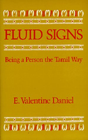 Fluid Signs: Being a Person the Tamil Way