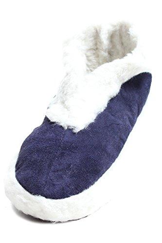 brubaker-chaussons-homme-et-femme-chaussons-en-suede-linterieur-fourre-bleu-taille-euro-46