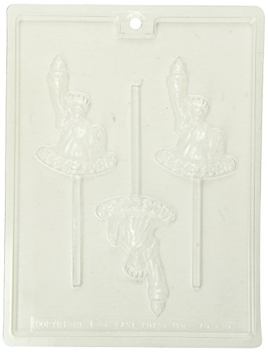 Nikki's Wholesale Chocolate Mold Kit, Statue of Liberty, 6 Count (Chocolate Statue compare prices)